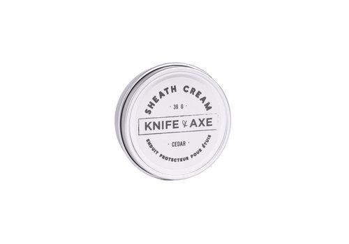 knife and axe Sheath Cream (Cedar)