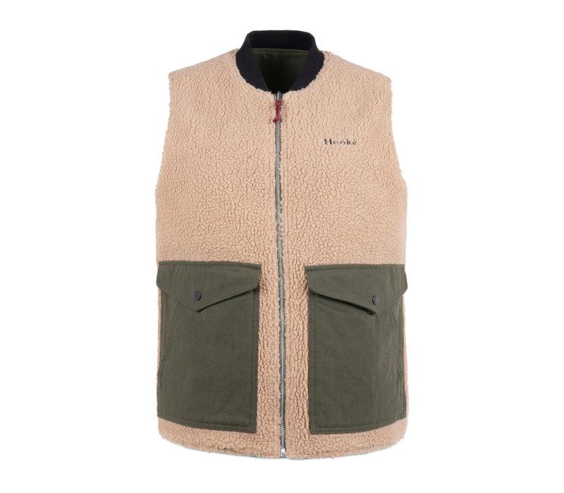 Unisex Reversible Sherpa Vest