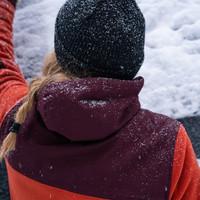 Hoodie technique en laine polaire pour femme