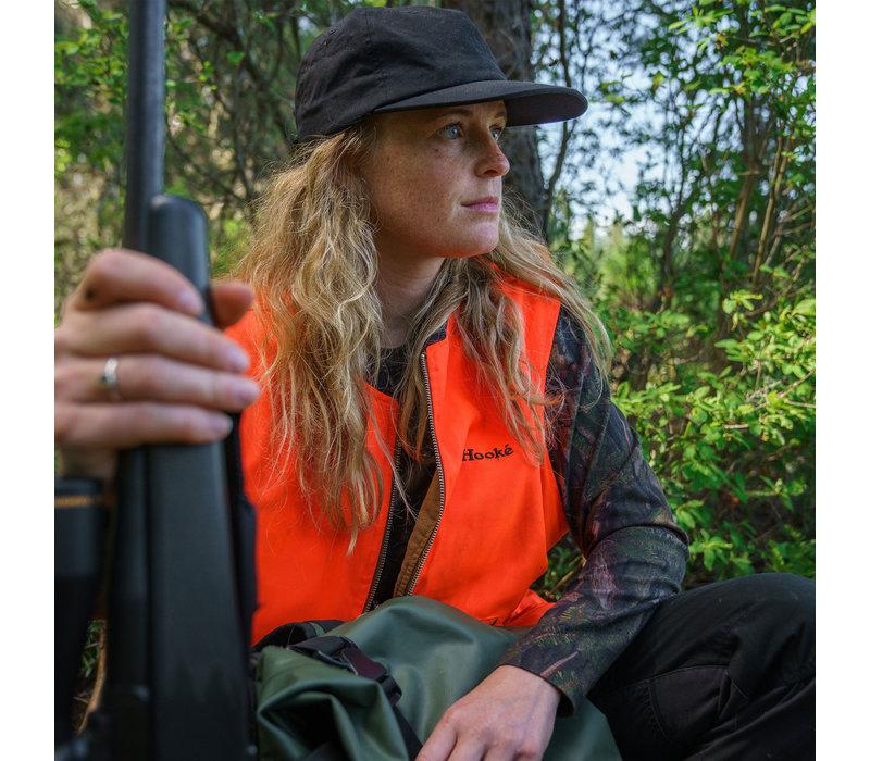 Manche longue camo forêt pour femme