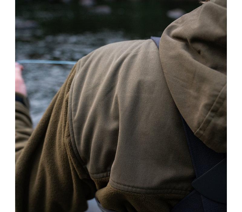 Hoodie technique en laine polaire