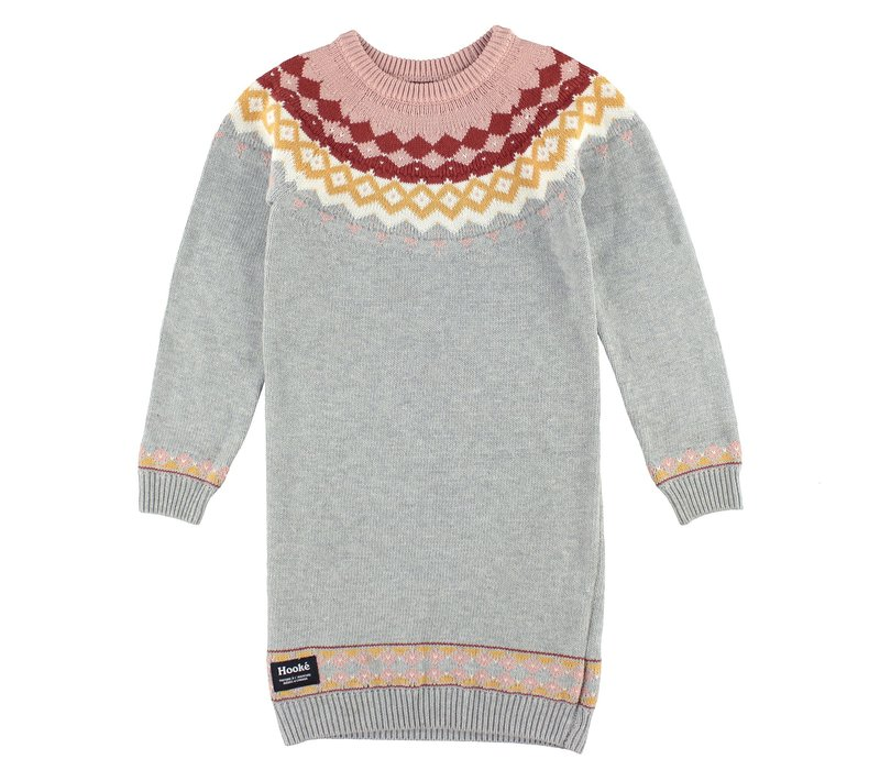 Knitted dress for kids