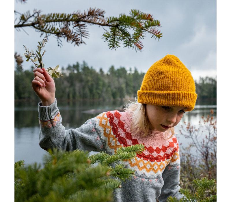 Robe en tricot pour enfants