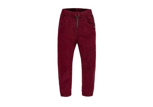 Hooké Pantalons Twill AH21 Bordeaux