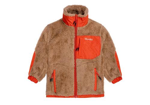 Hooké Arctic Bear Fleece Vest Beige