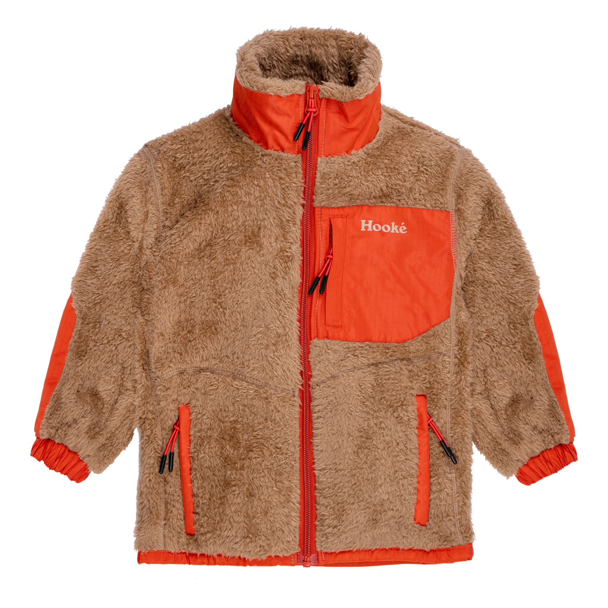 Arctic Bear Fleece Vest Beige