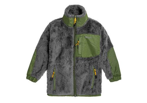 Hooké Arctic Bear Fleece Vest Charcoal