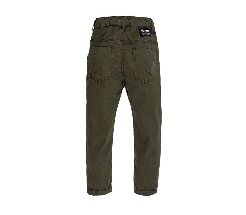 Twill Pants FW21 Olive