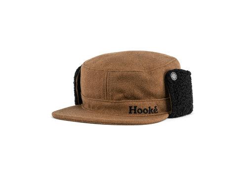 Hooké Flat Top Earflap Wool Cap