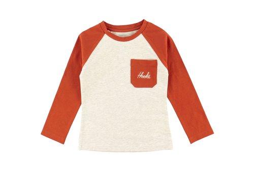 Hooké Raglan Chalet T-Shirt Beige Mix