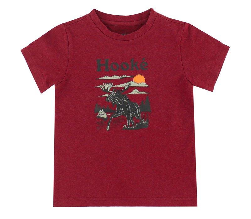 T-Shirt Orignal Bordeaux pour enfants