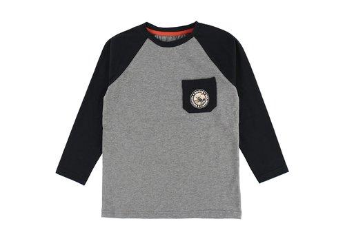 Hooké Moose Raglan T-Shirt Black