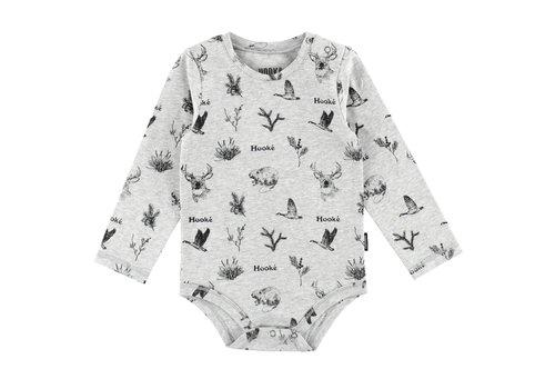 Hooké Wild Animals Diaper Cover Grey