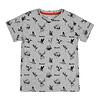 Hooké Wild Animals T-Shirt Heather Grey for kids