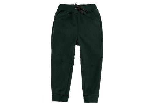Hooké Pantalons jogger Vert Forêt pour enfants