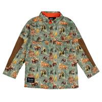 Woodland Shirt Olive for kids