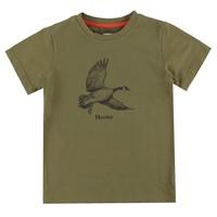 T-Shirt Bernache Olive pour enfants