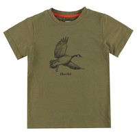 Goose T-Shirt Olive for kids