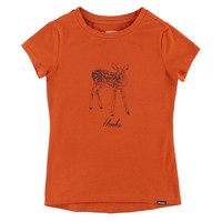 T-Shirt Chevreuil Orange pour enfants