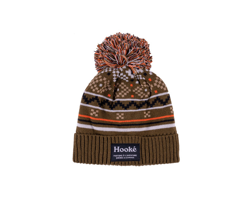 Tuque Scandinave Olive