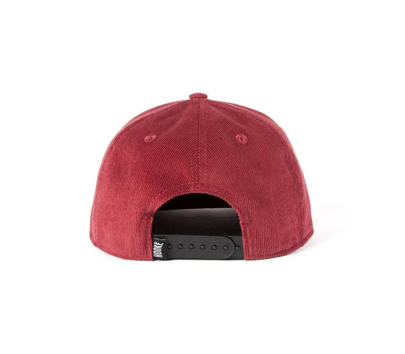 Corduroy Snap Back Red Wine