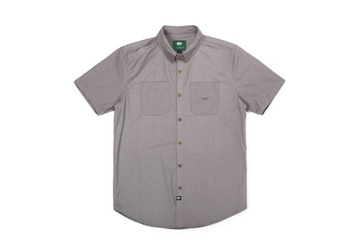 Fly Short Sleeve Shirt Washed Charcoal