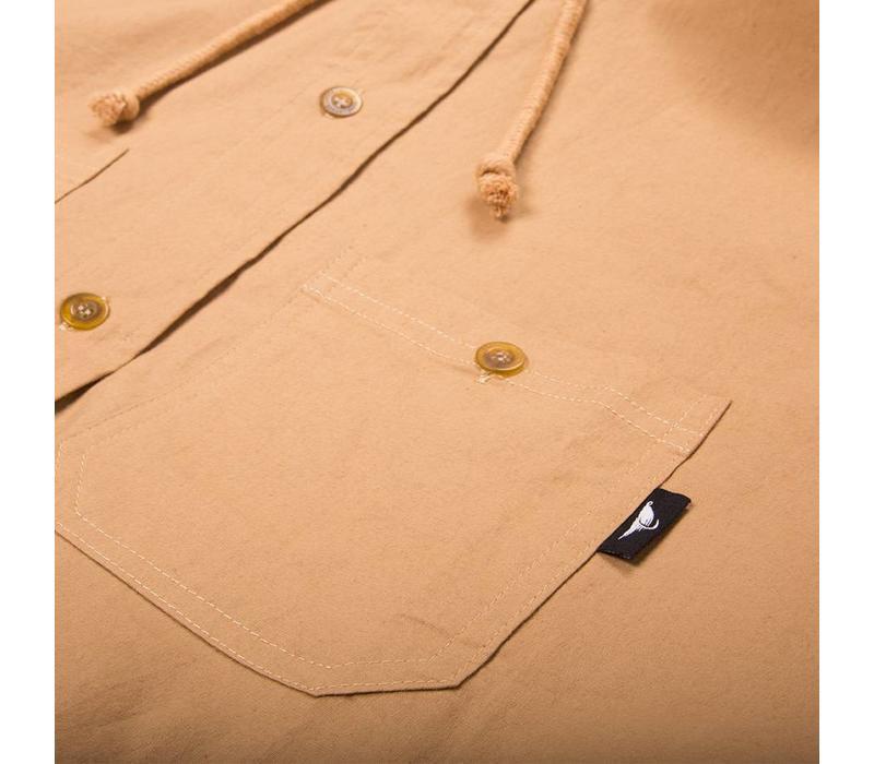 Chemise à Capuchon Beige
