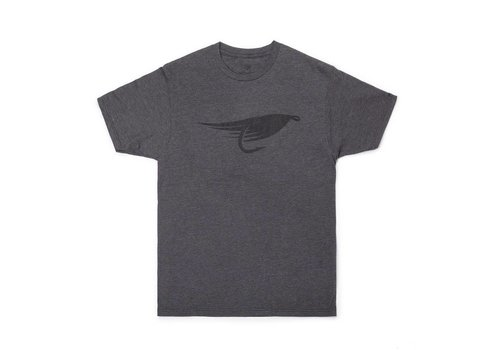 Big Fly T-Shirt Heather Charcoal
