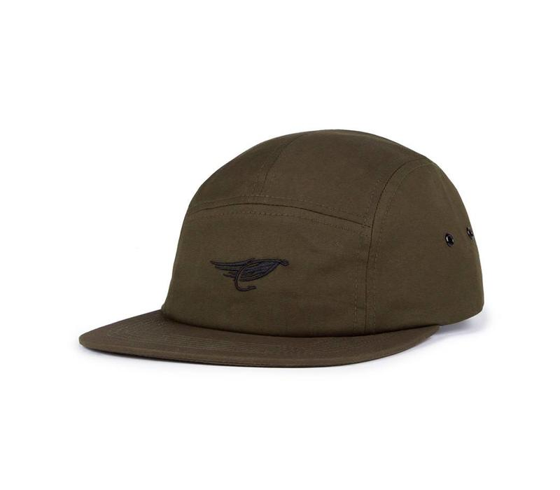 Chino Camper Hat Khaki Green