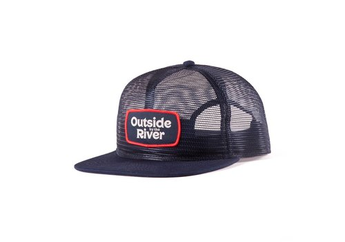 Mesh Trucker Hat Navy