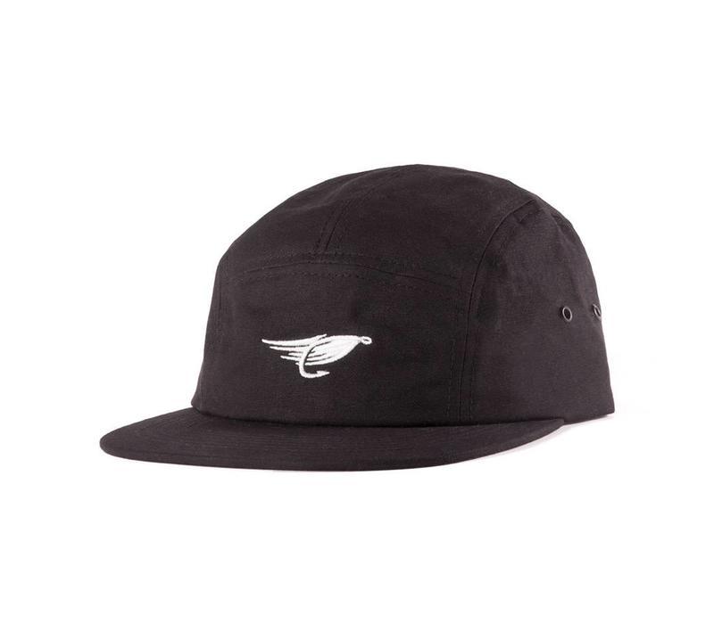 Waxed Camper Hat Noir