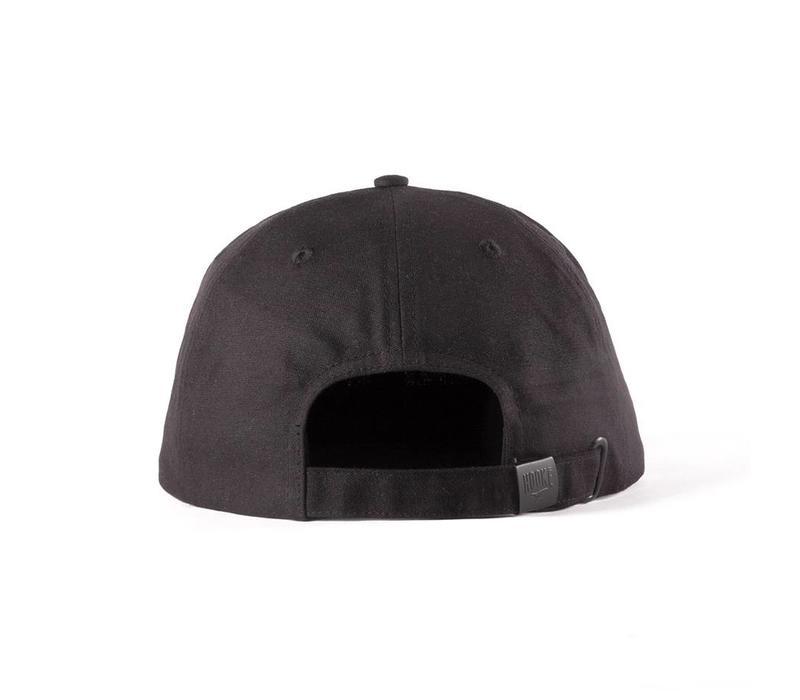 Hooké Waxed Strap Back Noir