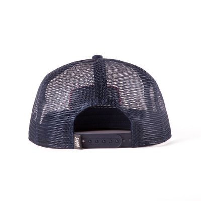 Full mesh trucker hat - 100% polyester - Felt patch merrow border -  Adjustable snap back - Signature label acc52e9b1ea