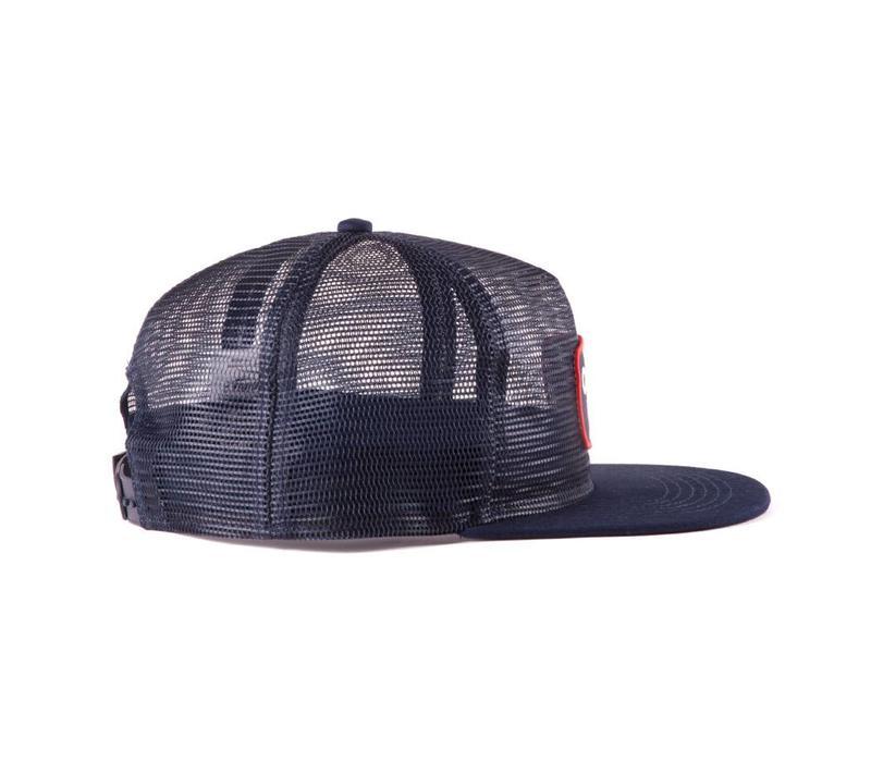 Mesh Trucker Hat Navy