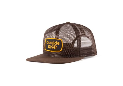 Mesh Trucker Hat Brown