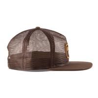 Mesh Trucker Hat Brown