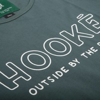 Women's  Outside By The River T-Shirt  Green