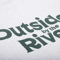Outside By The River LS Tee Ash