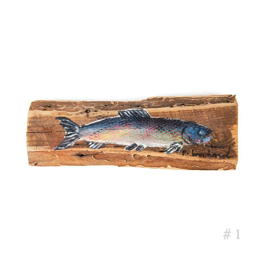 Wooden Trout - Small