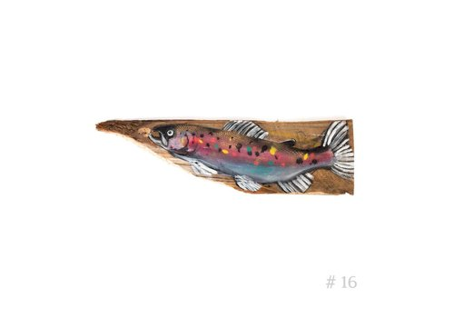 Wooden Trout - Fly