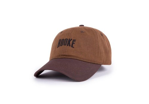 Hooké Waxed Dad Hat Brown