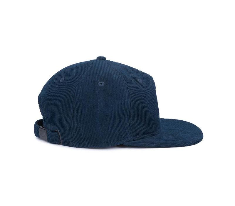 Fox 6 Panel Hat Navy