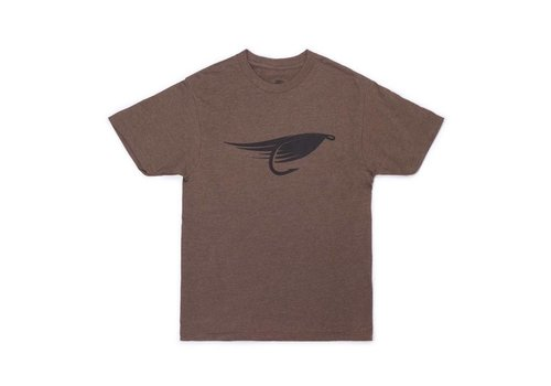 Fly T-Shirt Brun Chiné