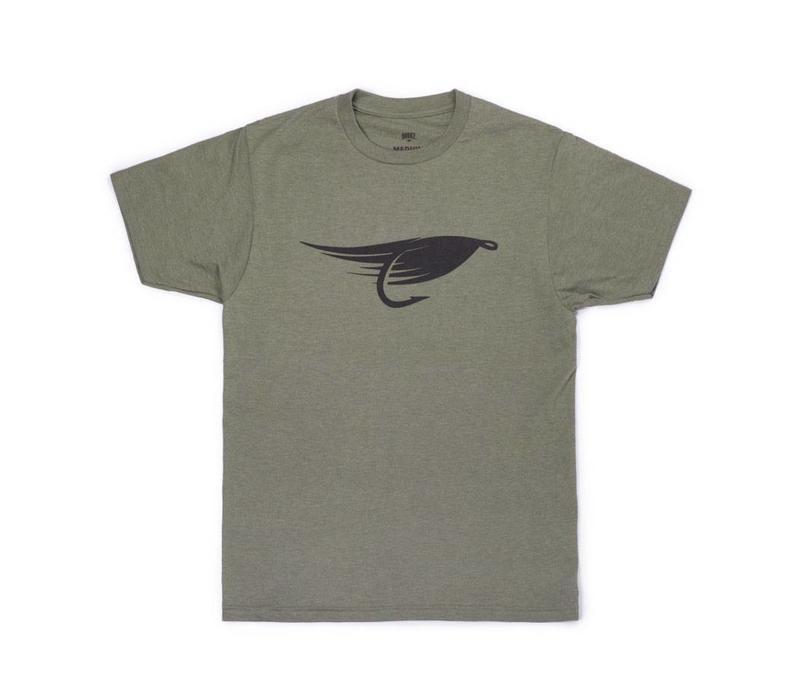 T-Shirt Fly Vert Chiné
