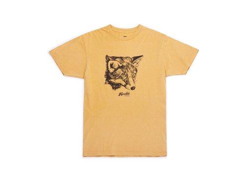 Fox T-Shirt Vintage Mustard