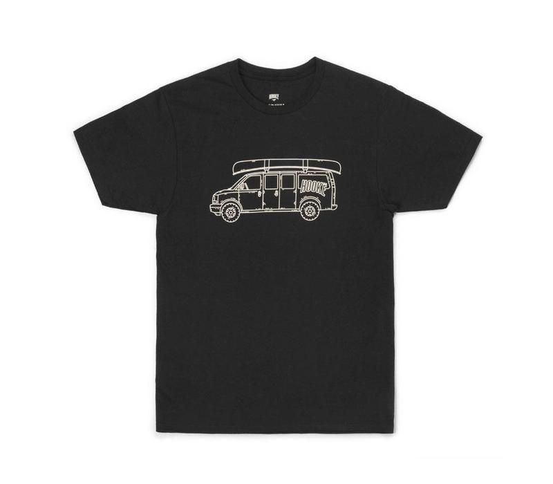 Hooké Van T-Shirt Black