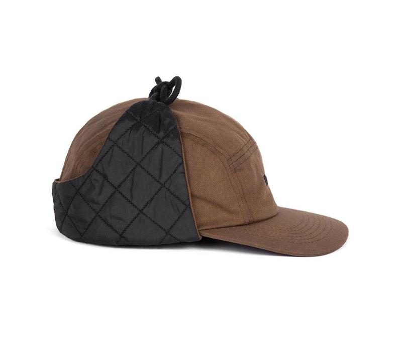Ear Flap Camper Hat Brun