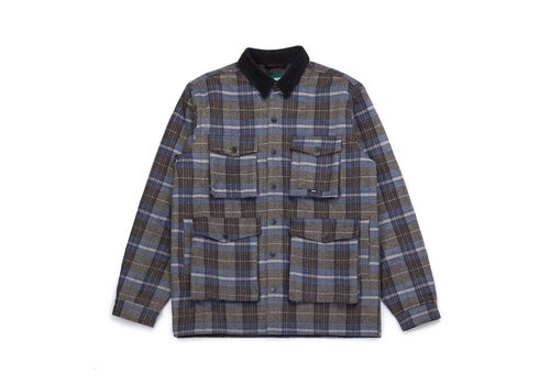 Ruffed Grouse Jacket Blue & Charcoal