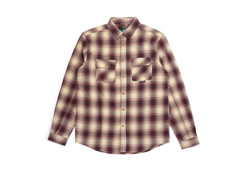 Adventure Shirt Cream & Red