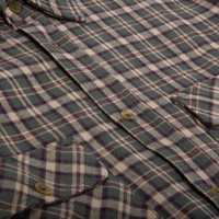 Adventure Shirt Vintage Green Plaid